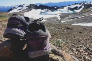 Topos on a hike.