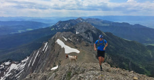 Epic Michael Burke and Barley trail run