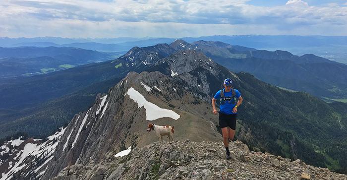 Epic Michael Burke and Barley trail run